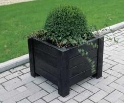Milano planter - Black
