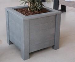 Milano planter - Grey
