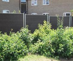 GovaWall® fence system. Norwich City Council