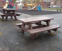 Oslo Junior picnic tables - Eastbourne Council