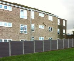 GovaWall® fence system for Norwich City Council