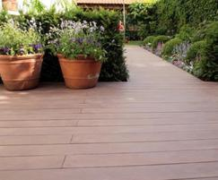 Govadeck recycled plastic anti-slip decking boards