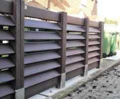 Bin bays for Places for People Housing Association