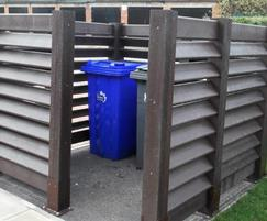Stoke City Housing - Mier Estate - bin enclosure