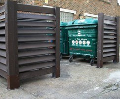 Lambeth Council, London - Bin bays