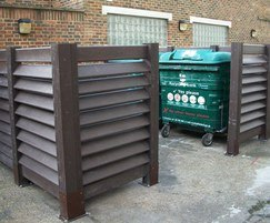 Lambeth Council enclosed bin store - Neat & tidy!