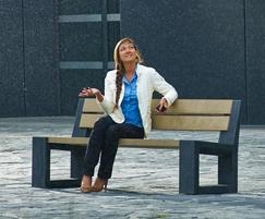Govaplast® Matrix 005 recycled plastic seat