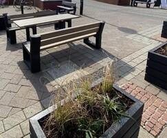 Goole town centre project. Matrix 08 and Agora planters