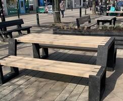 Goole town centre project. Matrix 08 picnic table