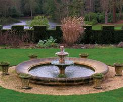 Water feature restored for private client in Hampshire