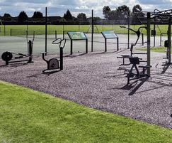 Big Rig outdoor gym