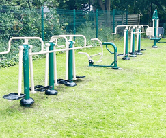 Outdoor gym - Greenhill Primary School