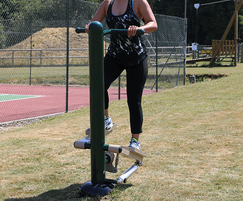 Outdoor Gym Resistance Stepper