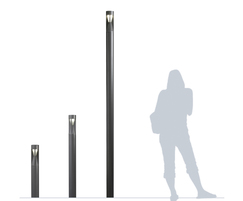 Pharola illuminated bollard available in 3 sizes