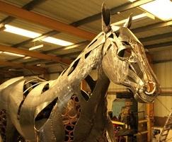 Leyland Horse sculpture