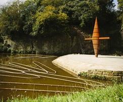 Worsley Delph bespoke corten steel sculpture