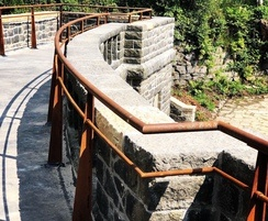 Wrought iron handrails - Rivington Pike