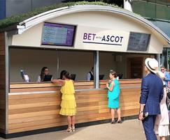 Betting kiosk - Royal Ascot Racecourse