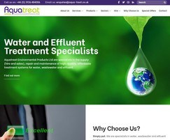 Aquatreat Environmental Products: New Aquatreat website launched