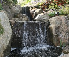 Waterfall design and build services from Splash Gordon