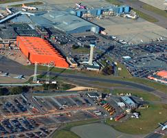 Luton airport required a new SuDS for expansion