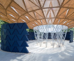 GEOlight™ cellular storage, Serpentine Gallery