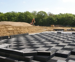 Stormwater storage attenuation and infiltration system