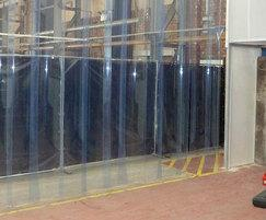 For dust control in a manufacturing plant