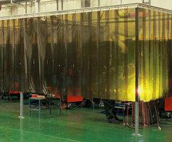 Specialist strips to create welding booths