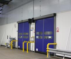 Fastflex doors - Royal Mail distribution centre