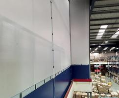 Flexiwall® in white and blue