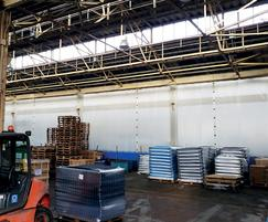 Warehouse with Flexiwall® partitioning