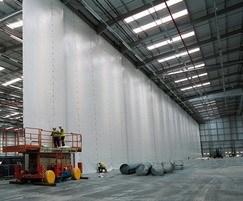 Flexiwall industrial partition, Magna Park, Lutterworth