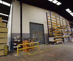 Flexiwall and Fastflex Fast Action Door