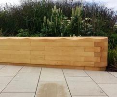 Acoya wood carved seating