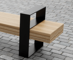 Wrap Bench With Arms Chris Nangle Furniture Esi External Works