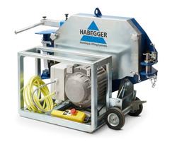 Habegger HIT TRAC 32E powered winch