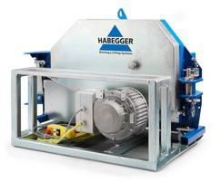 Habegger HIT TRAC 64E powered winch