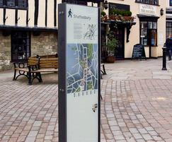 jack signage system for Shaftesbury Town