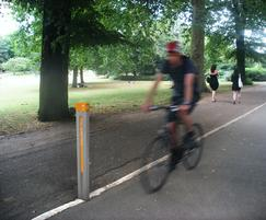 Cycle routes marking