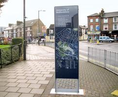 Pedestrian monolith