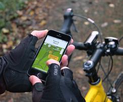 Digital interactive cycling maps