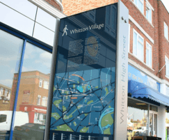 Directory signage - Whitton High Street