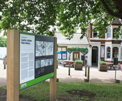 Signage for Jubilee Park