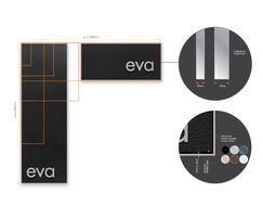 eva is infinitely flexible to meet specifications