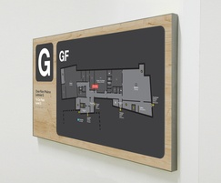 Internal signage suitable for any application