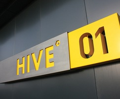 Arrival signage