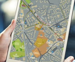 Borough wide smart application mapping