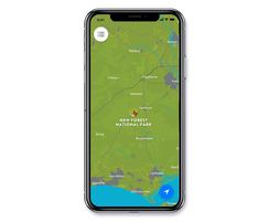 Smart Places App Bespoke Map Style