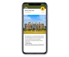 Smart Places App Pop up Window